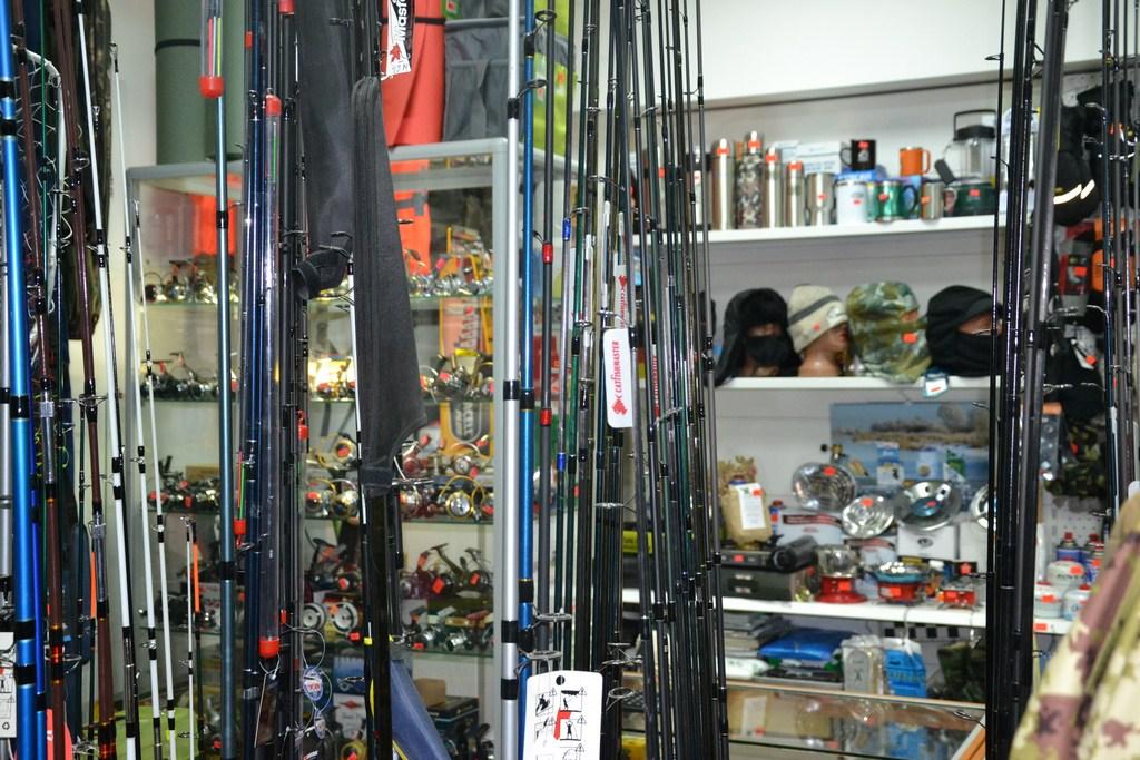 Сеть магазинов Fishmaster
