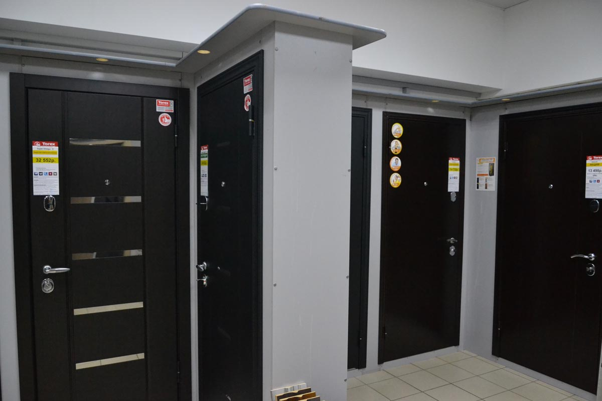 Качественные двери Торекс Терновка Пенза ТЦ Куб