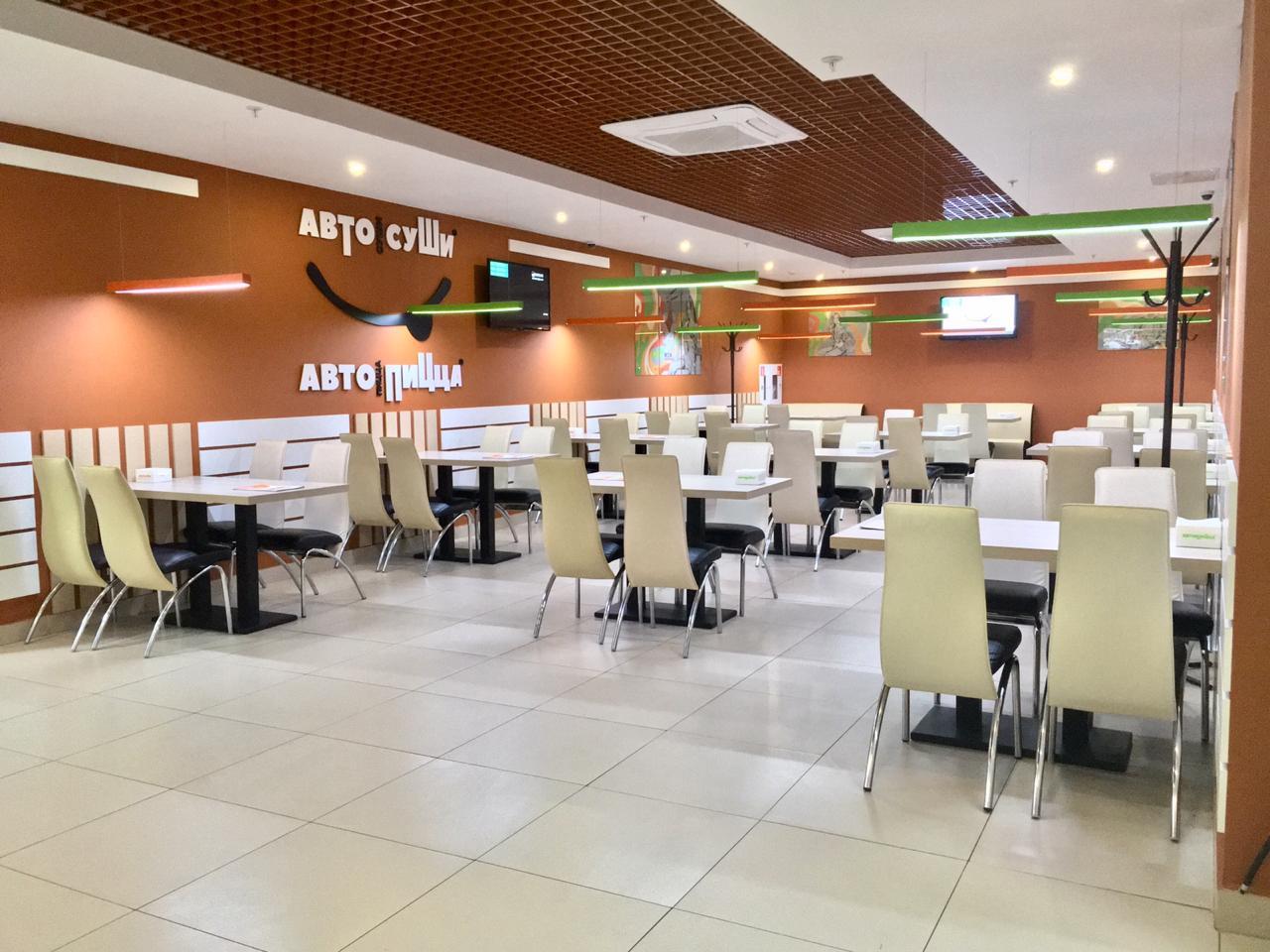 Уютное кафе Автосуши в ТЦ КУБ г.Пенза